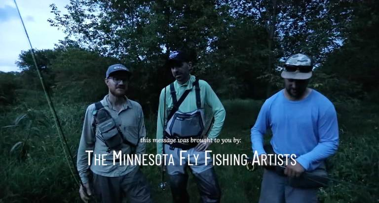 Public Service Announcement Inclement Weather Minnesota Fly Fishing Artists Group Photo
