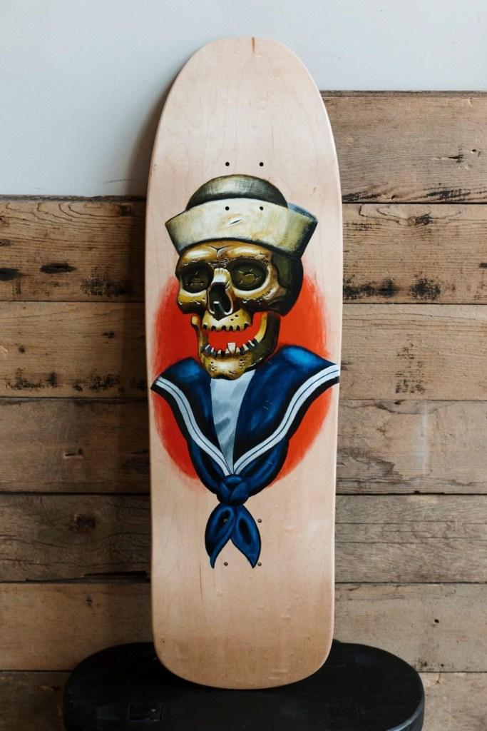 Seth Hines Artist: Michael Phillips Skate Unity