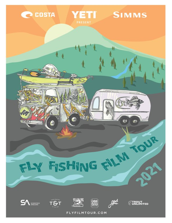 2021 Fly Fishing Film Tour Poster