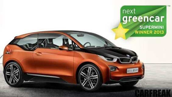 BMW i3 - Next Green Car Supermini Winner 2013