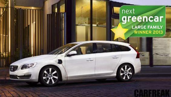 Volvo V60 - Next Green Car Large Family Winner 2013