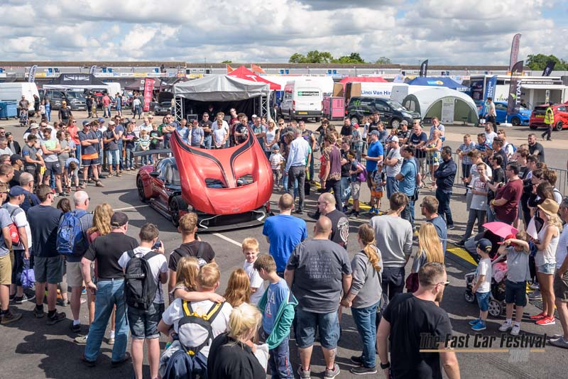 Aston Martin Crowd Shot