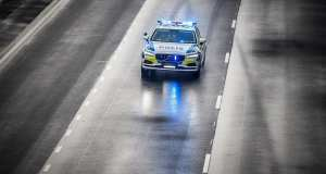 Swedish Police First To Use V90 Estate As A Police Car