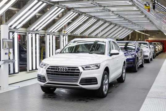 Audi Production Line