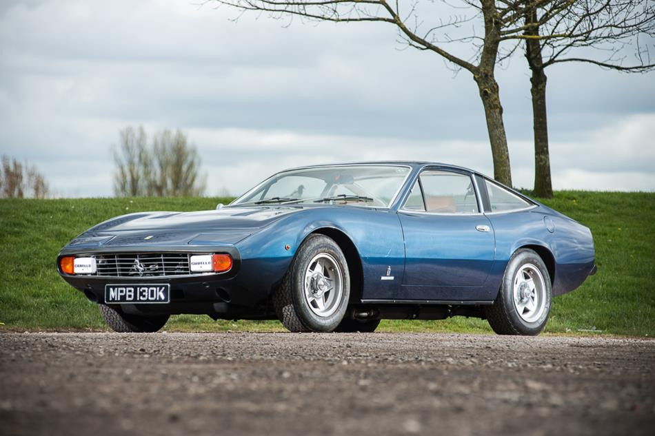 A 1972 Ferrari 365 GTC/4