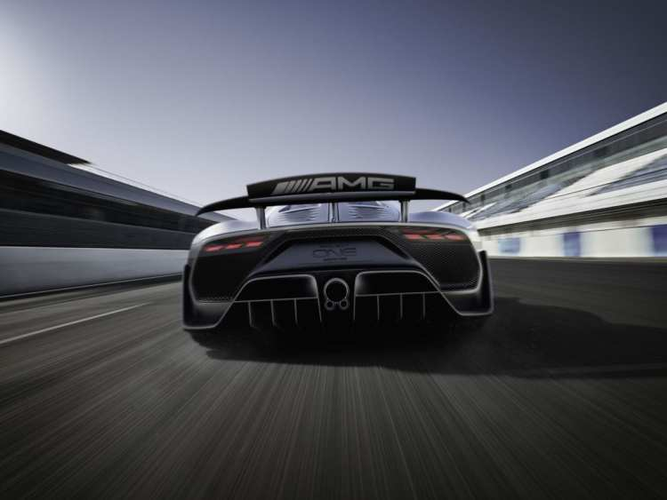 Mercedes-AMG Project ONE show car