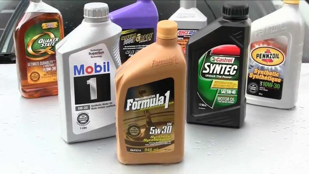 jenis minyak enjin