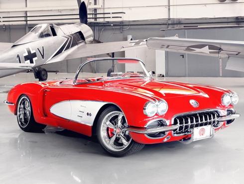 Corvette 1959, modelo 2012