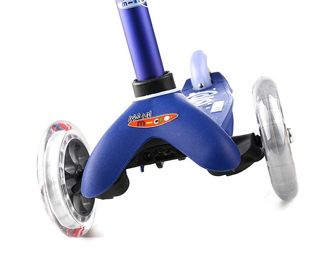 mini micro deluxe scooter blue MMD006