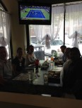 Thursday-Sushi-Day!! Every week more people go with us:)