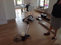 Working in the Amsterdam appartment