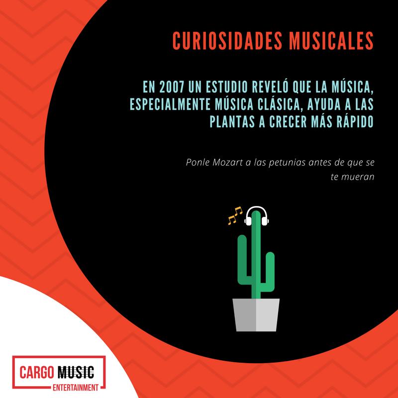 la música ayuda a las plantas a crecer