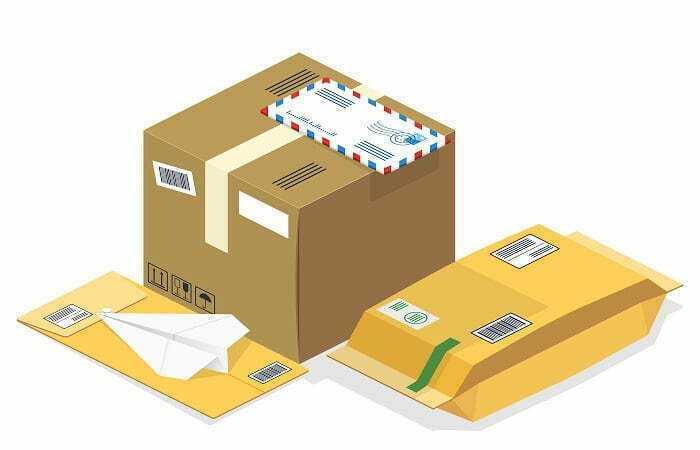 Odprawa przesyłki pocztowej