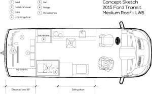 toilet | Cargo Van Conversion