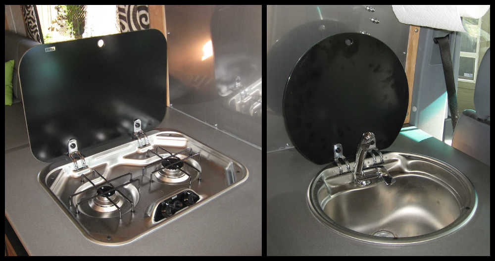European Style Rv Cooktop Amp Rv Sink
