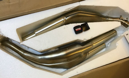 Arrow RG3 Exhausts and EPROM to suit MV Agusta