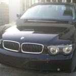 【クロームメッキ磨き】BMW7シリーズ