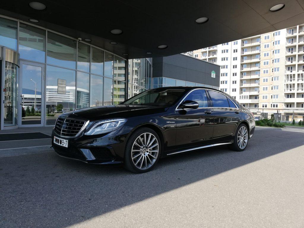 Rent Mercedes Benz S500 S222 Amg Long 2015 Black In Minsk