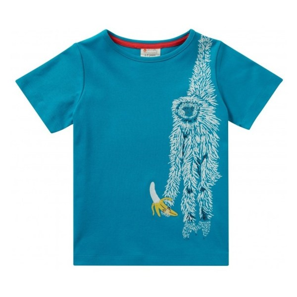 blue sloth_t-shirt
