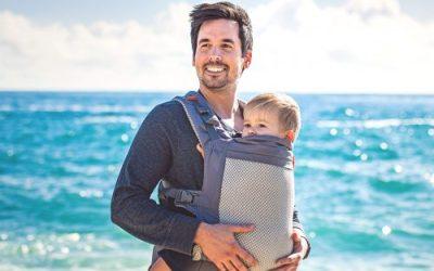 Heat, Holidays and Babywearing…