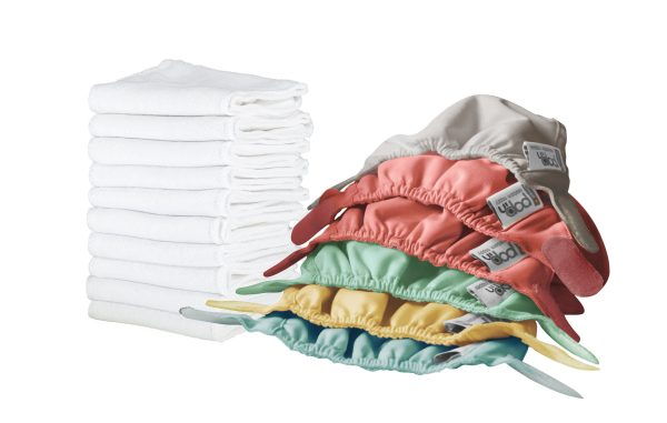 derby cloth nappy library NEWPop-in Newborn-pack