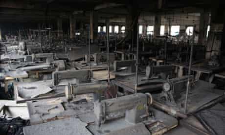 modern slavery factory fire
