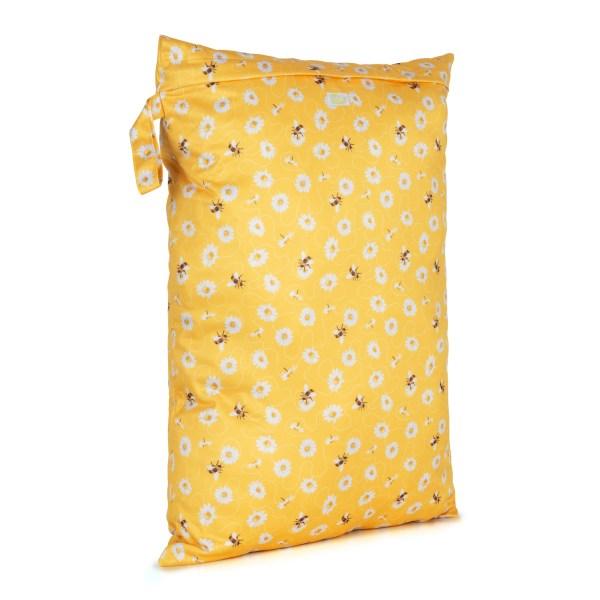Baba+Boo Daisies Reusable Nappy Bag - Large