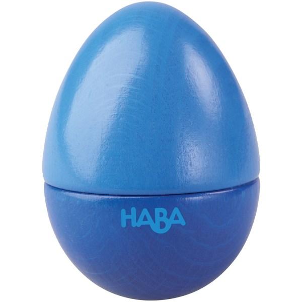dark blue egg musical shaker