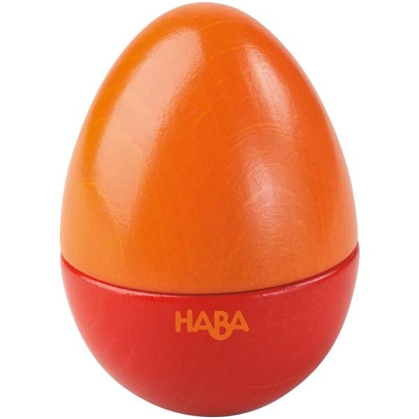 red egg musical shaker