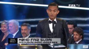 Keputusan Anugerah Puskas 2016