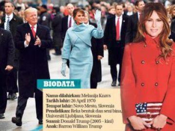 Biodata Melania Trump