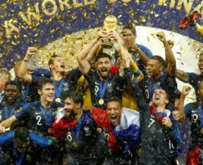 Senarai Pemenang Anugerah Piala Dunia 2018