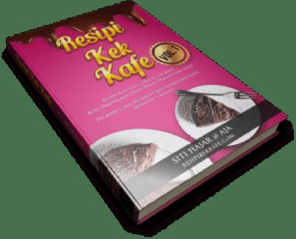 Belajar Cara Buat Kek Kafe