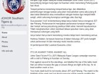JDT Vs Pahang + Rakyat Malaysia