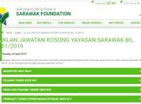 Jawatan Kosong Yayasan Sarawak 2019