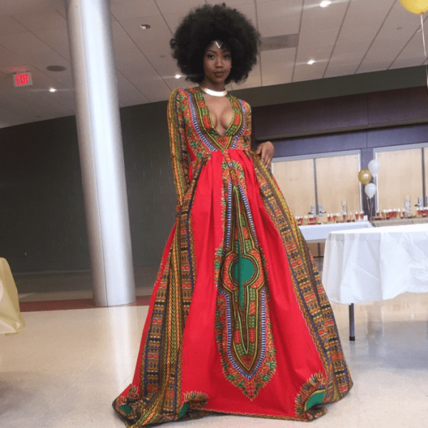 Black Teen Breaks the Internet with Afro-Inspired Prom Gown
