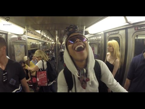 Brandy Sings Her Heart Out On NY Subway And Gets No Love