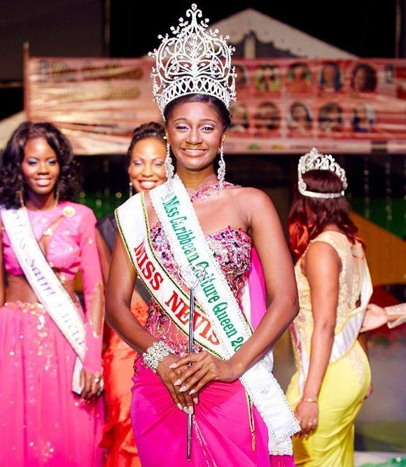 Miss Nevis wins the 10th Annual Miss Caribbean Culture