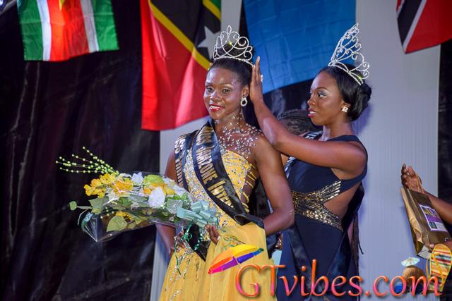 Miss Trinidad & Tobago Afeyah Jeffrey Wins Miss Jamzone 2015