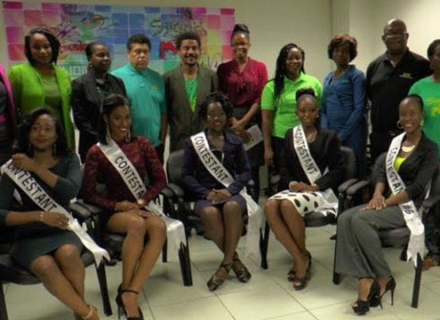 St. Kitts-Nevis National Carnival Pageant Contestants Meet Their Potential Sponsors