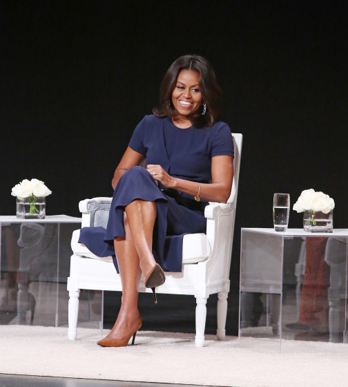 First Lady, Michelle Obama, Offers Stellar Advice To Young Females At The Apollo