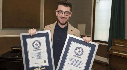 Sam Smith Breaks Two Guinness World Records