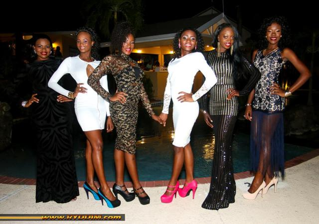 Black San Reveals The 'Sensational Six' Swimsuit Pageant Contestants
