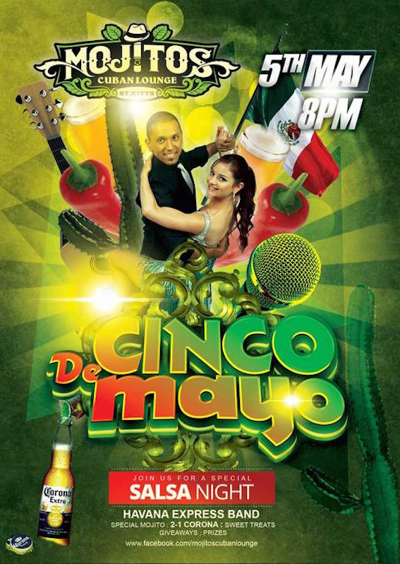 Cinco de Mayo at Mojitos Cuban Lounge