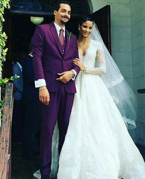 Kaci Fennell, Former Miss Jamaica Universe Ties The Knot With Long Time Bae