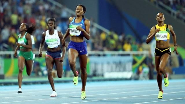 Women's 400 meter final: Caribbean vs United States