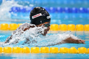 Izzy Shne Joachim; The 16 year old looking more than at home in the pool at the Rio 2016 Olympics.