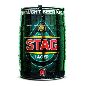 Stag Lager Keg