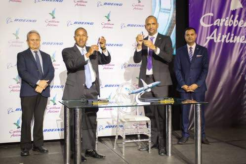 Caribbean Airlines enhancing fleet with Boeing 737 MAX