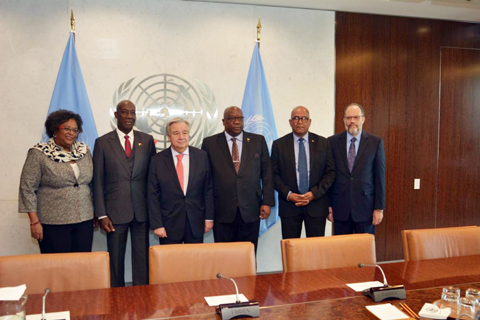 CARICOM leaders meet with UN Secretary General on Venezuela crisis